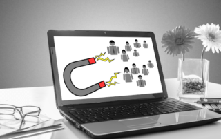 Customer retention explained using magnets